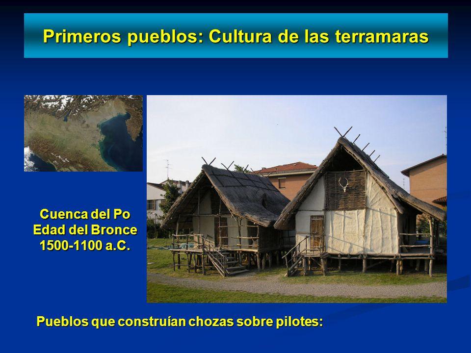 Primeros pueblos: Cultura de las terramaras
