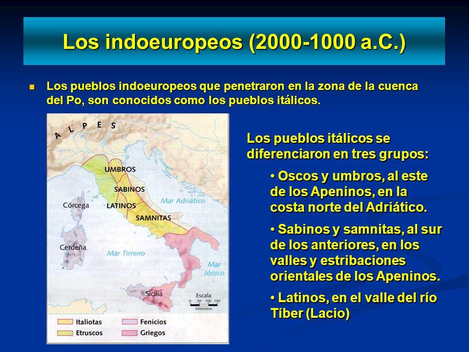 Los indoeuropeos (2000-1000 a.C.)