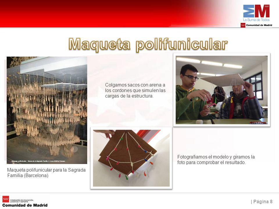 Maqueta polifunicular