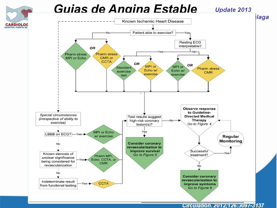 Guias de Angina Estable