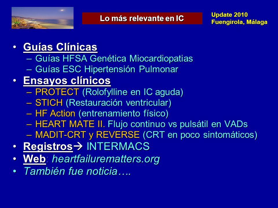 Web: heartfailurematters.org También fue noticia….