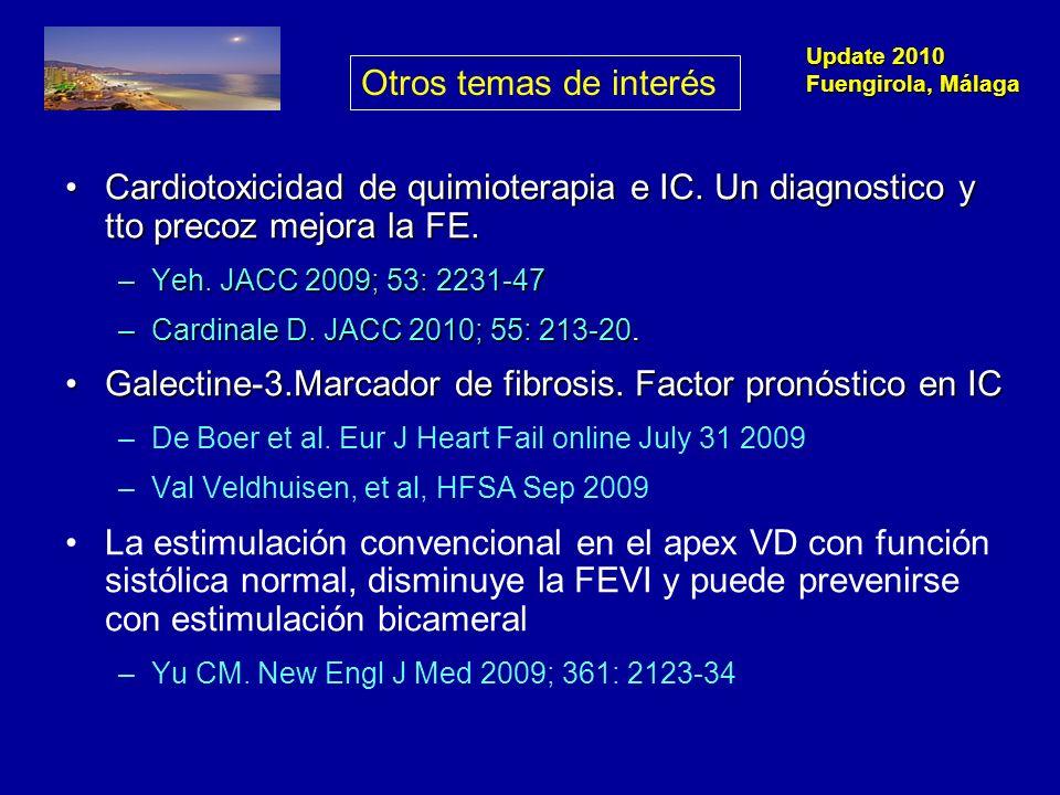 Galectine-3.Marcador de fibrosis. Factor pronóstico en IC