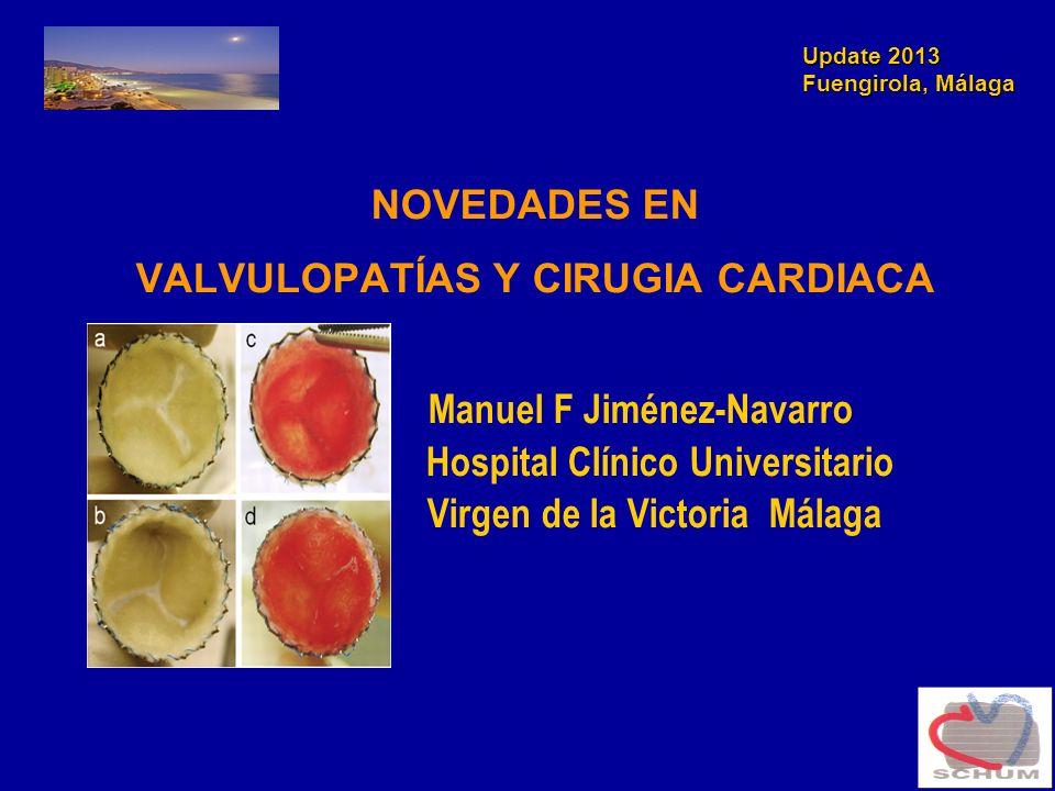 VALVULOPATÍAS Y CIRUGIA CARDIACA