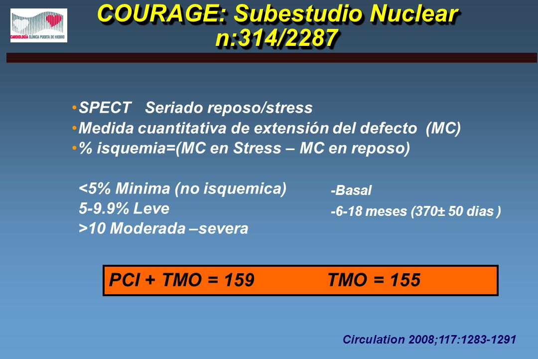 COURAGE: Subestudio Nuclear n:314/2287