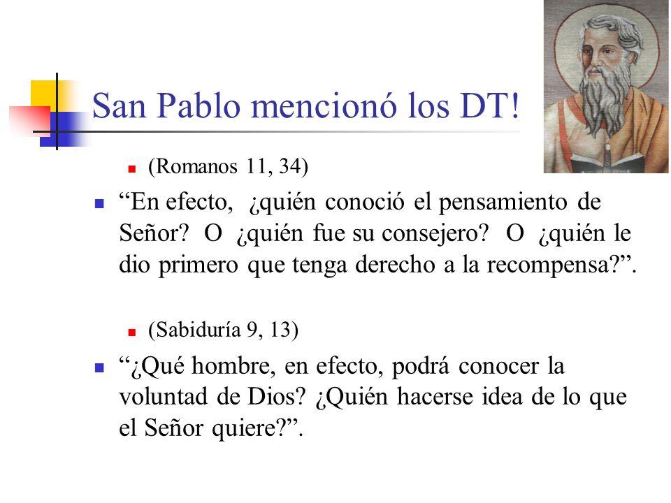 San Pablo mencionó los DT!