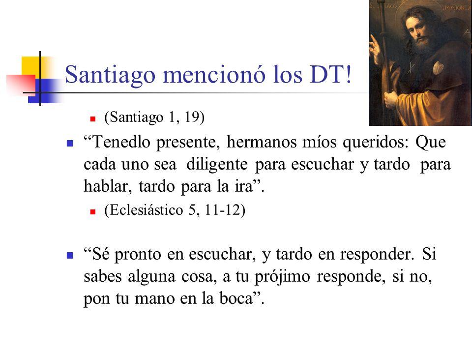 Santiago mencionó los DT!