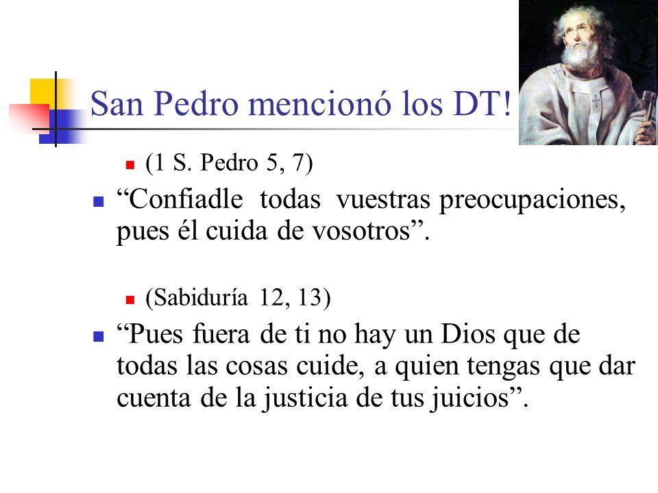 San Pedro mencionó los DT!
