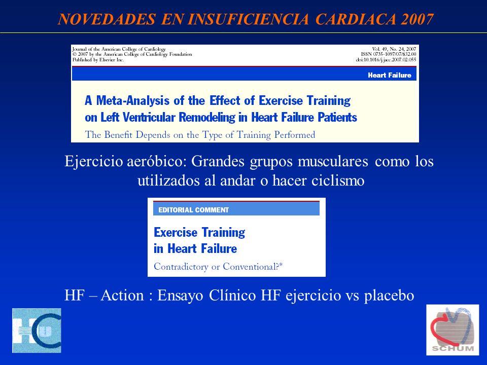 NOVEDADES EN INSUFICIENCIA CARDIACA 2007