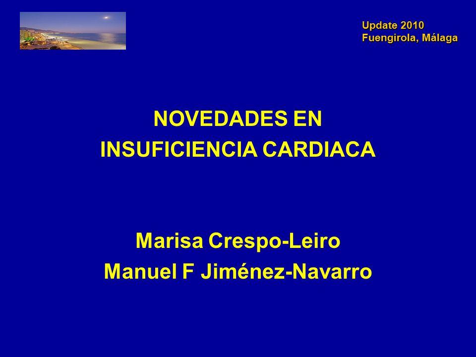 INSUFICIENCIA CARDIACA Manuel F Jiménez-Navarro