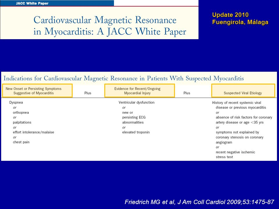 Friedrich MG et al, J Am Coll Cardiol 2009;53:1475-87
