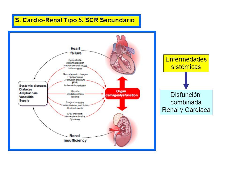 S. Cardio-Renal Tipo 5. SCR Secundario