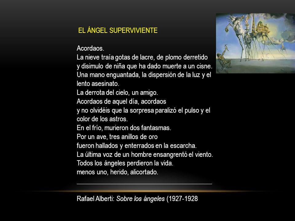 EL ÁNGEL SUPERVIVIENTE