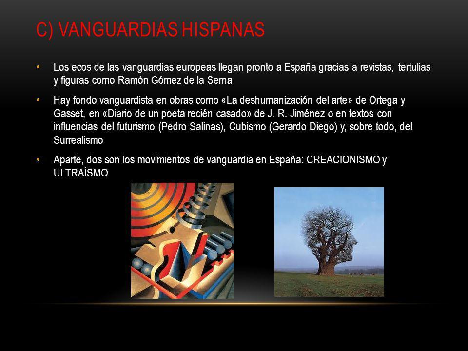 C) Vanguardias HIspanas