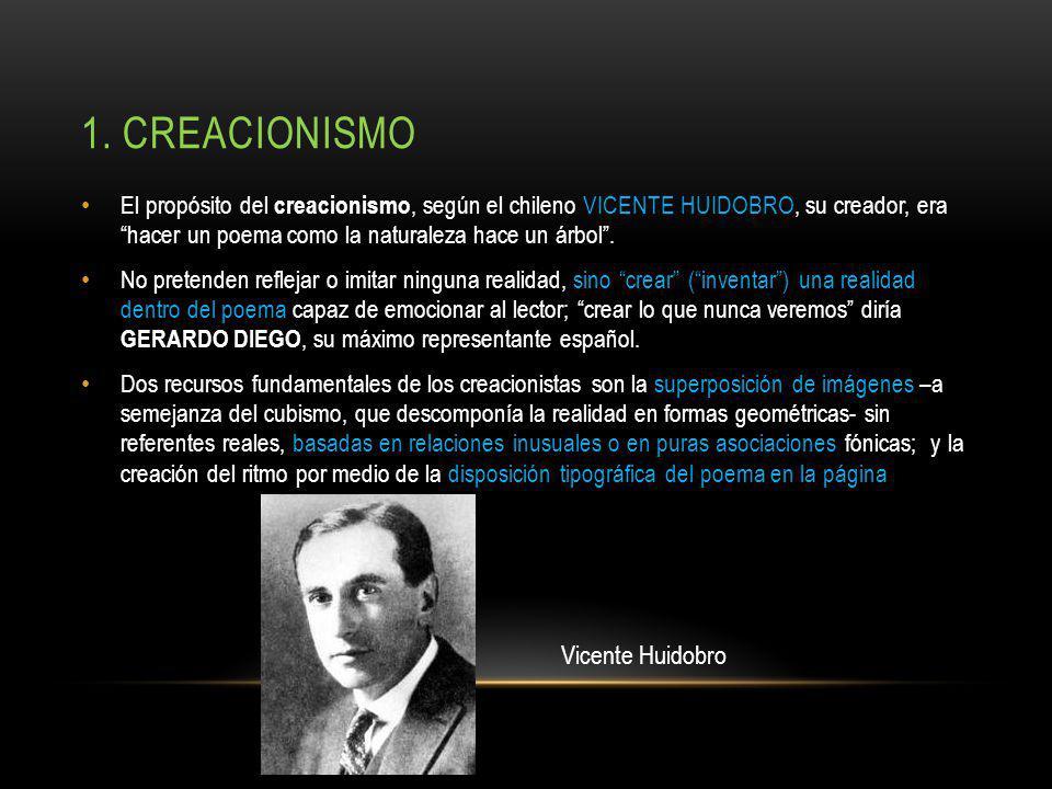 1. creacionismo Vicente Huidobro