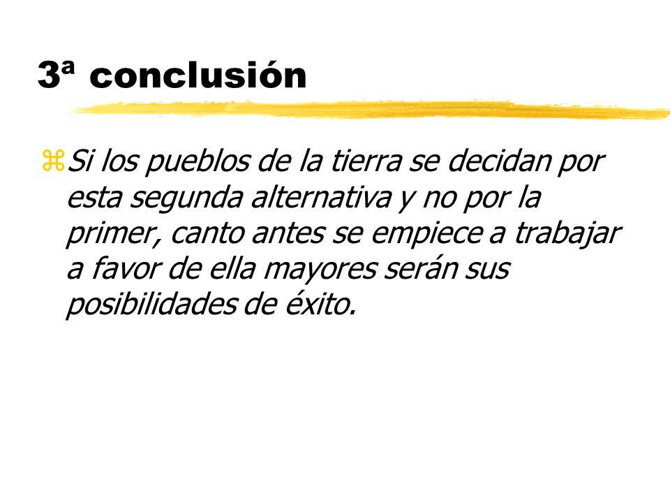 3ª conclusión