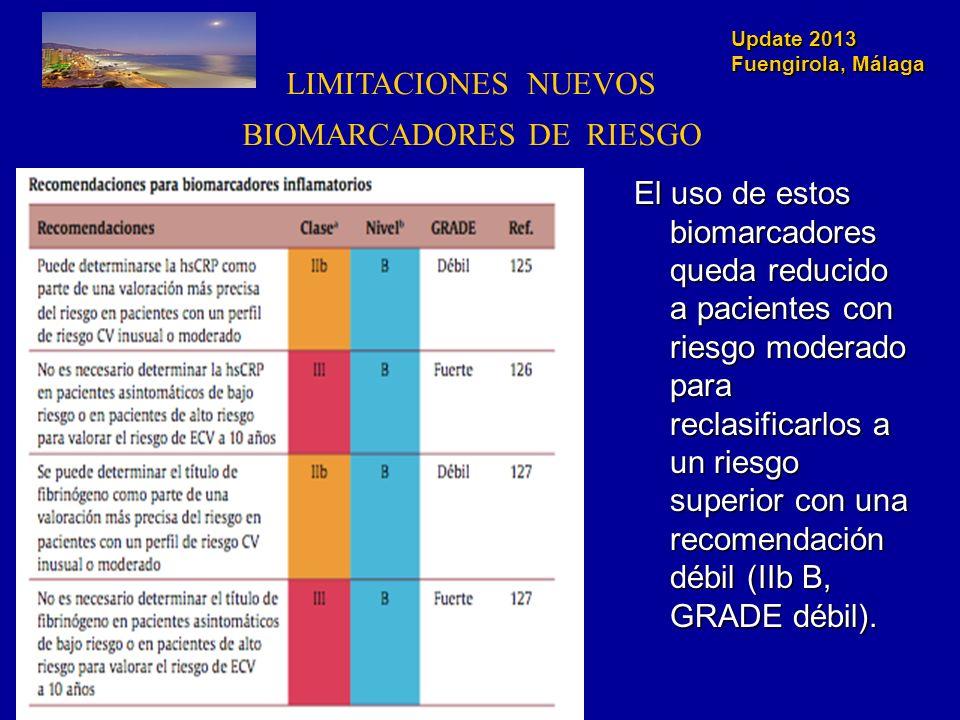 BIOMARCADORES DE RIESGO