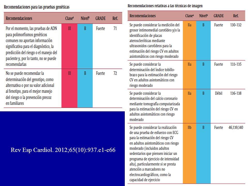 Rev Esp Cardiol. 2012;65(10):937.e1-e66