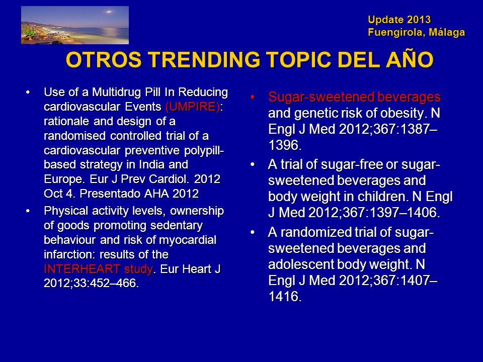 OTROS TRENDING TOPIC DEL AÑO