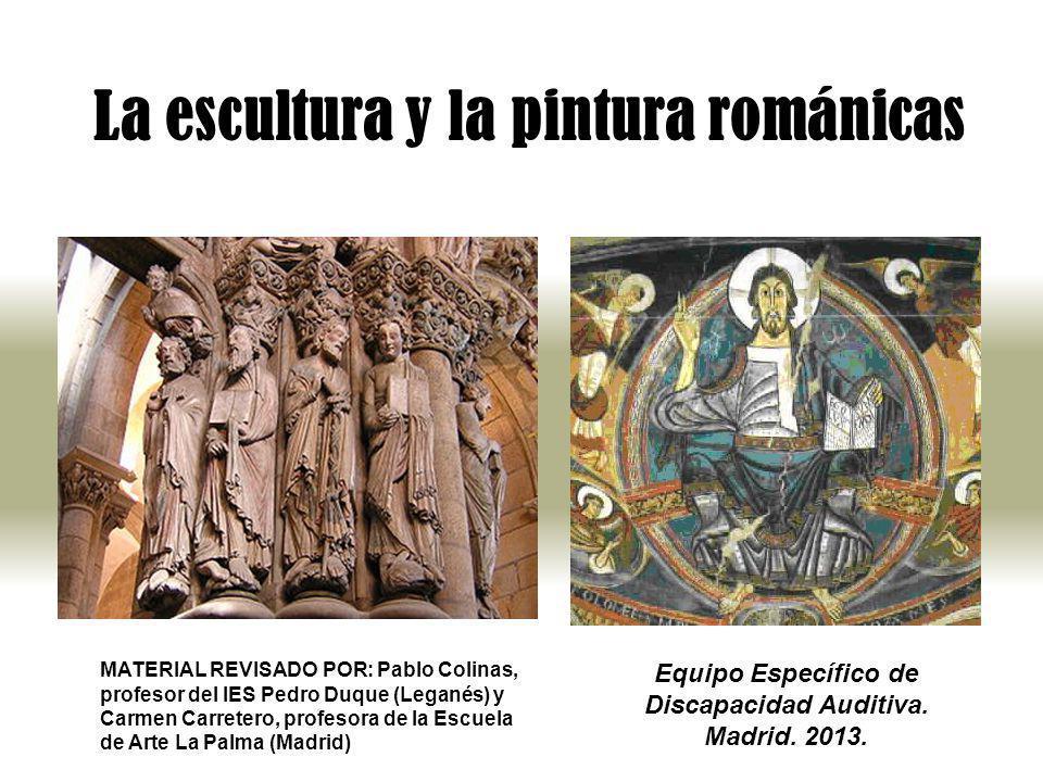 La escultura y la pintura románicas