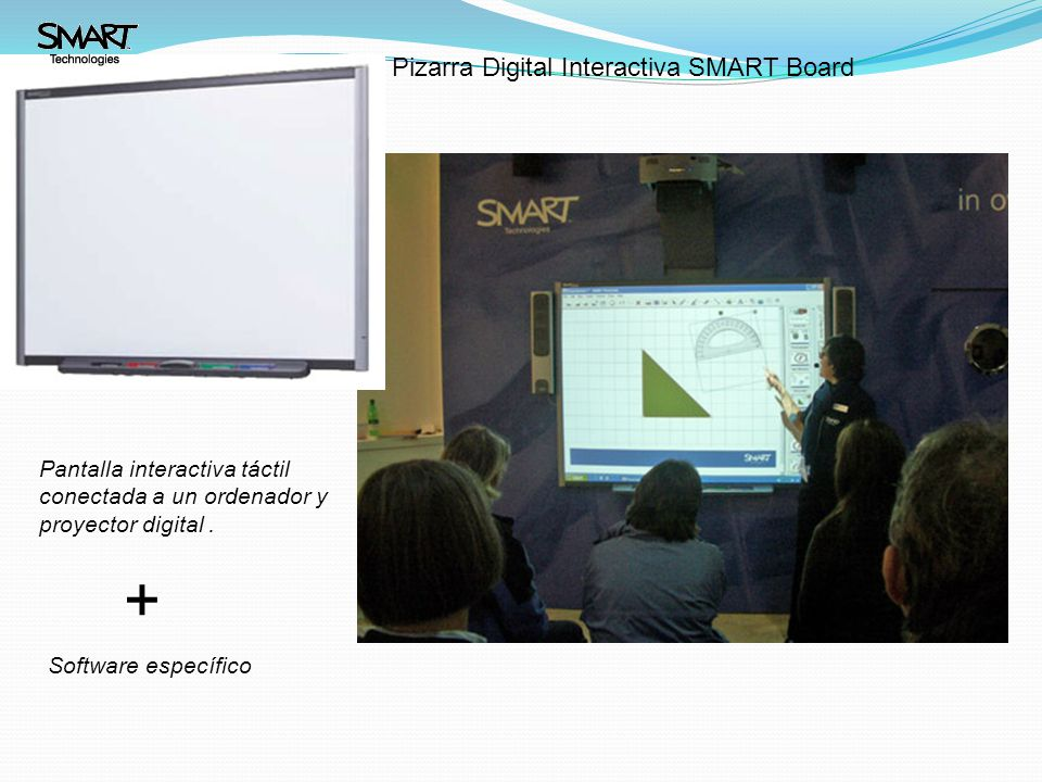 + Pizarra Digital Interactiva SMART Board
