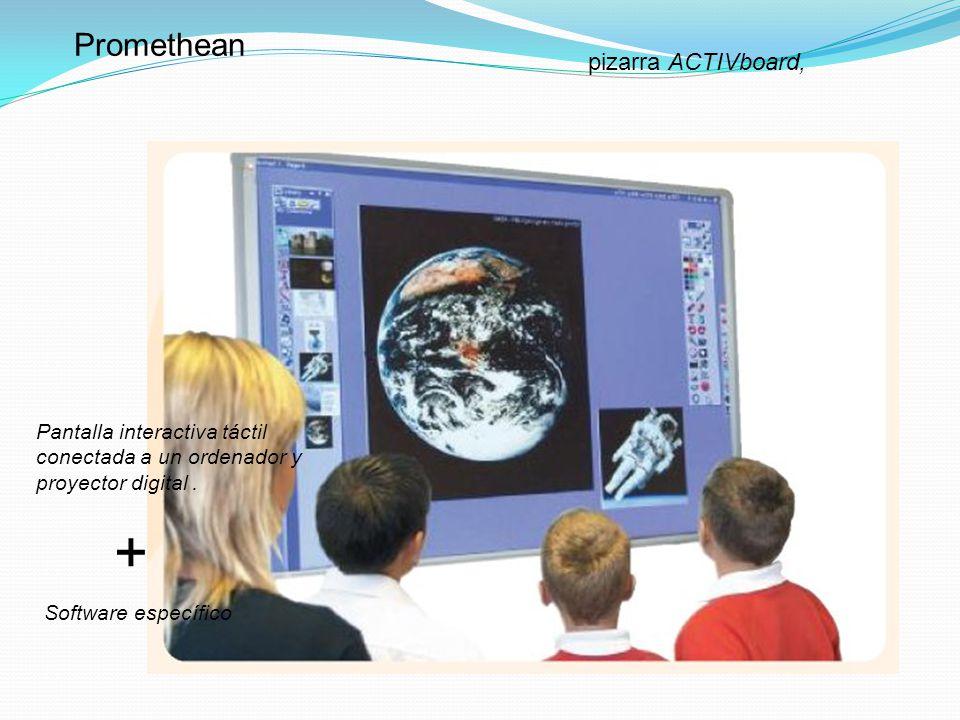 + Promethean pizarra ACTIVboard,