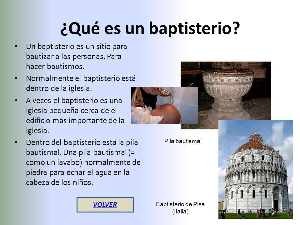 Baptisterio de Pisa (Italia)
