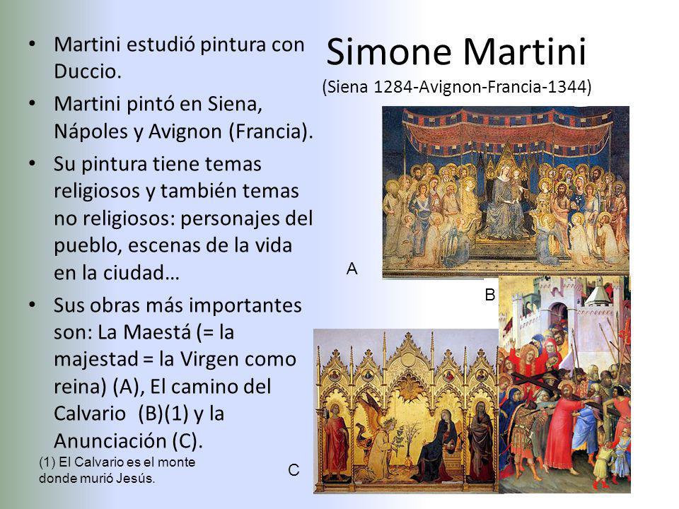 Simone Martini (Siena 1284-Avignon-Francia-1344)