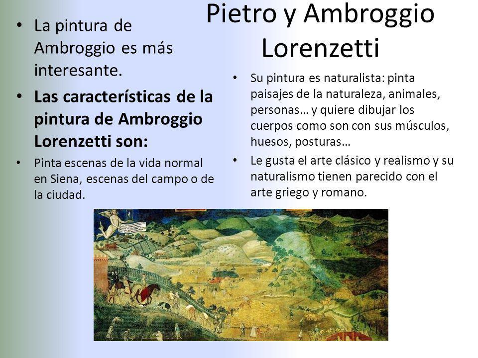 Pietro y Ambroggio Lorenzetti