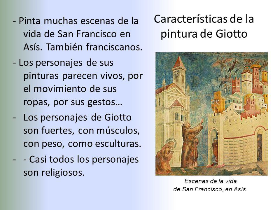 Características de la pintura de Giotto