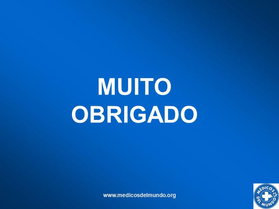 MUITO OBRIGADO www.medicosdelmundo.org