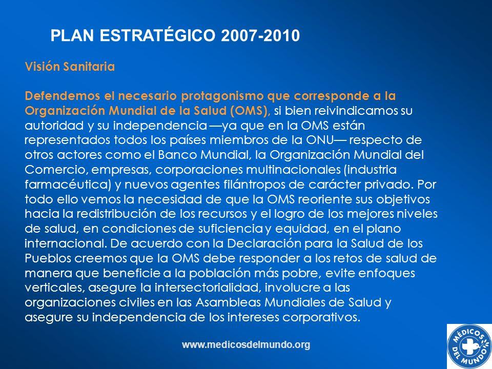 PLAN ESTRATÉGICO 2007-2010