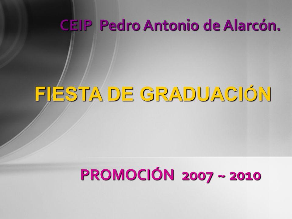 FIESTA DE GRADUACIÓN CEIP Pedro Antonio de Alarcón.