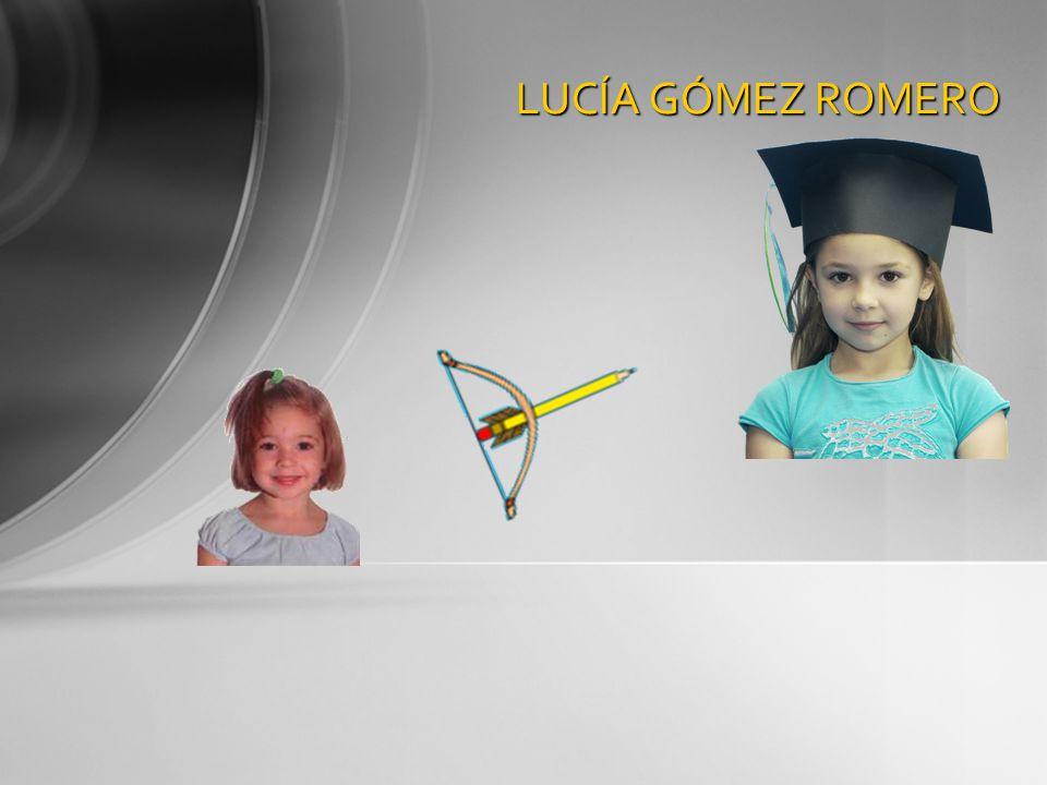 LUCÍA GÓMEZ ROMERO