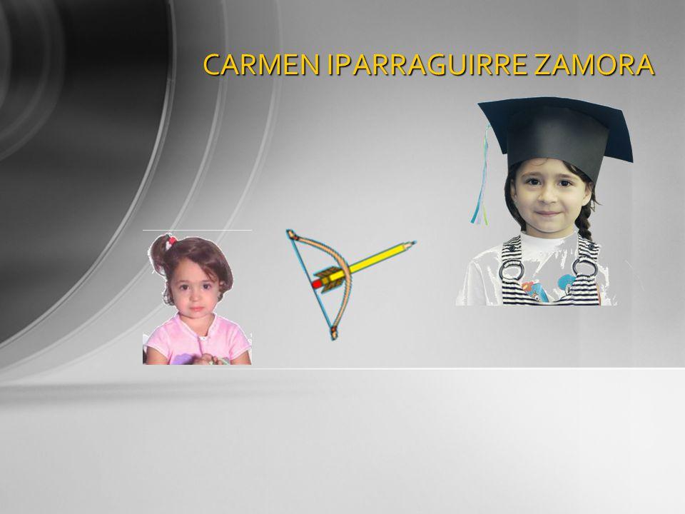 CARMEN IPARRAGUIRRE ZAMORA