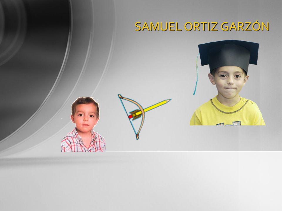 SAMUEL ORTIZ GARZÓN