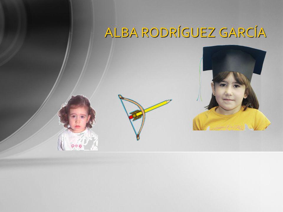 ALBA RODRÍGUEZ GARCÍA