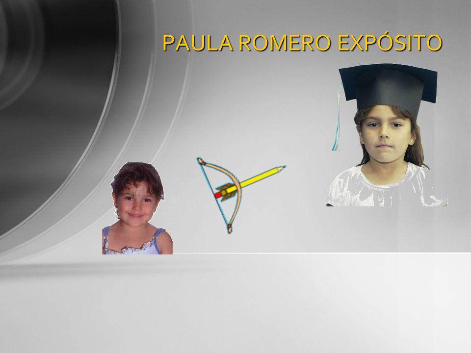 PAULA ROMERO EXPÓSITO