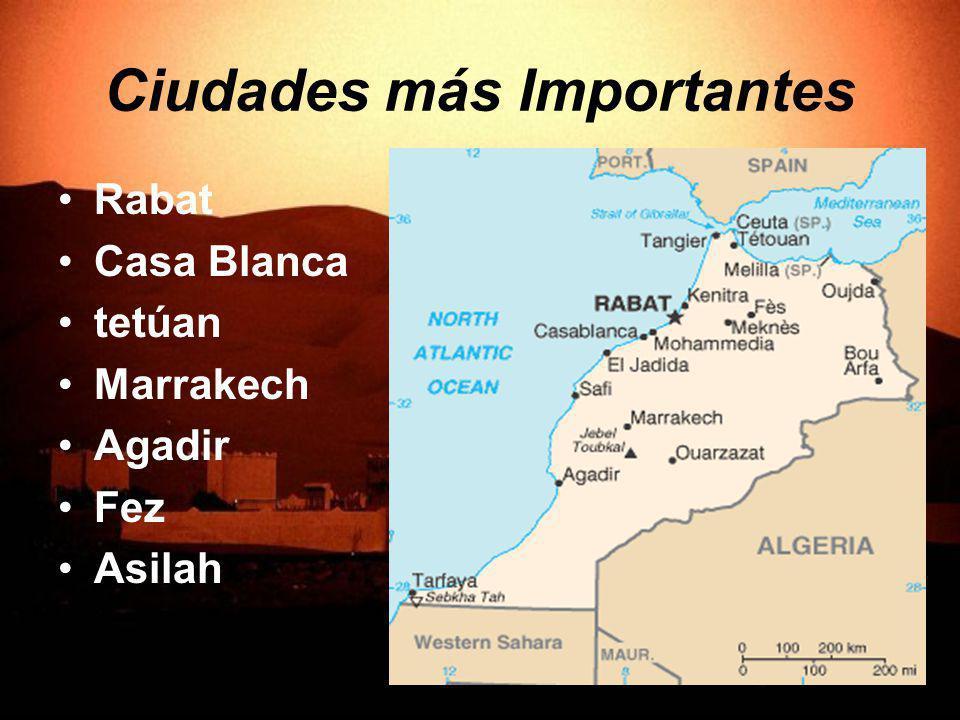 Ciudades más Importantes