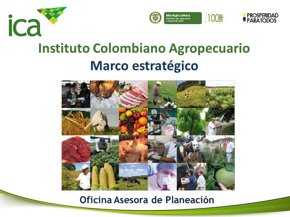 Instituto Colombiano Agropecuario Oficina Asesora de Planeación