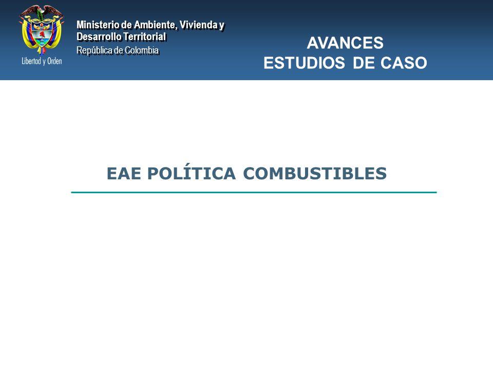 EAE POLÍTICA COMBUSTIBLES