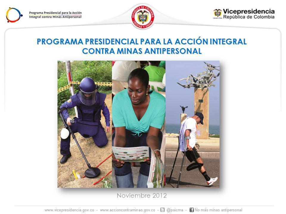 PROGRAMA PRESIDENCIAL PARA LA ACCIÓN INTEGRAL
