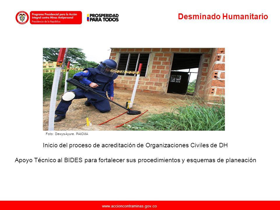 Inicio del proceso de acreditación de Organizaciones Civiles de DH