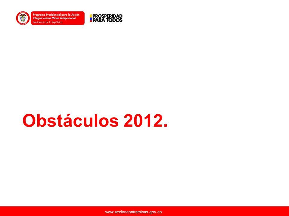 Obstáculos 2012.