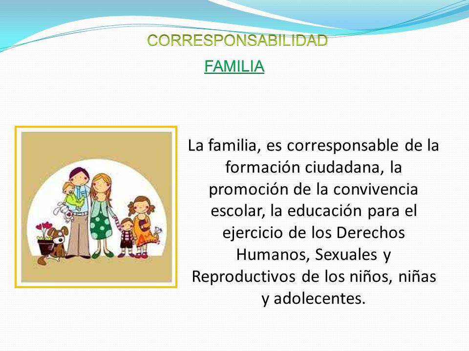 CORRESPONSABILIDAD FAMILIA.