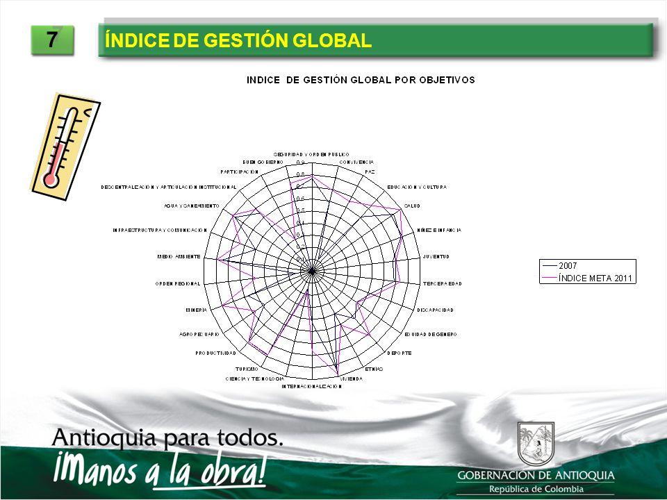 7 ÍNDICE DE GESTIÓN GLOBAL
