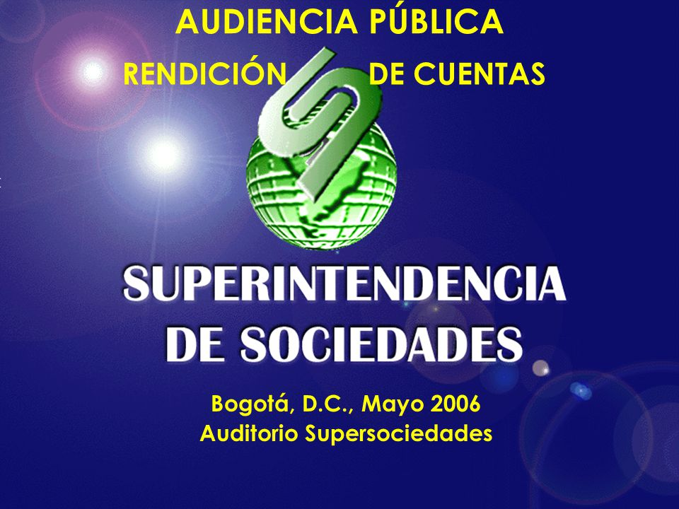 Auditorio Supersociedades