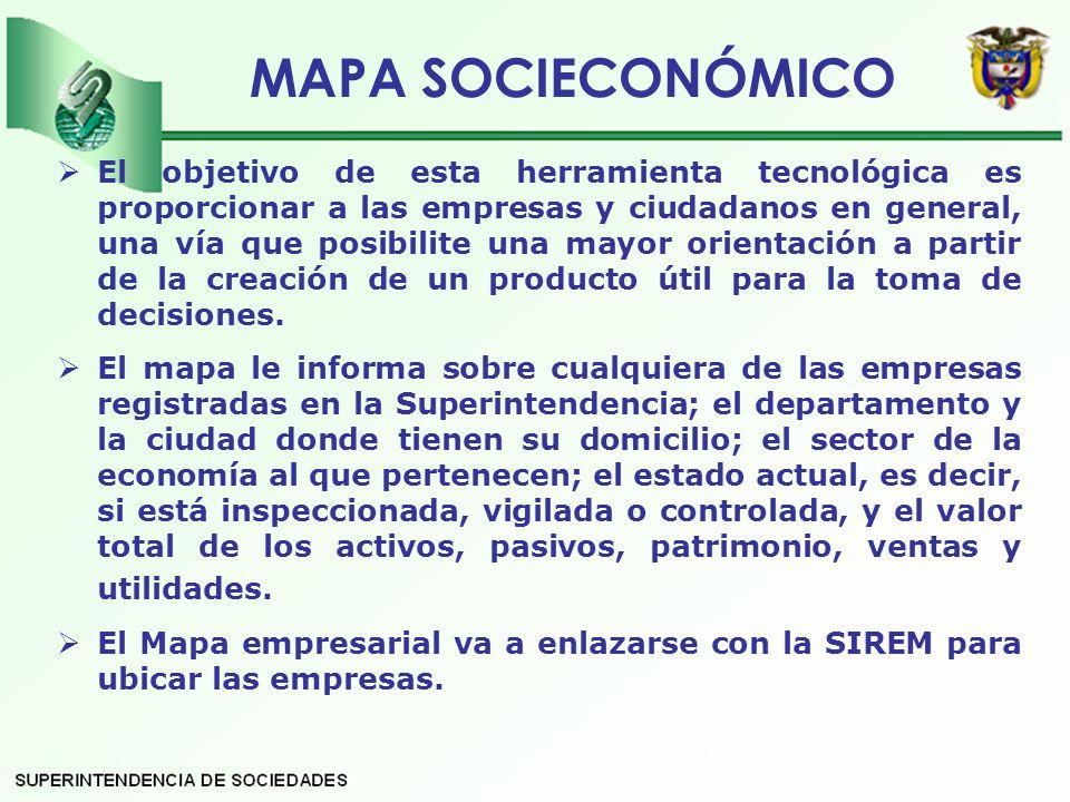 MAPA SOCIECONÓMICO