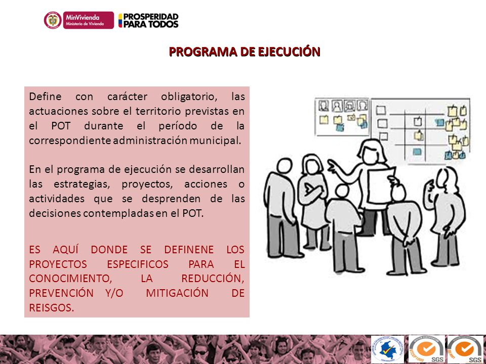 PROGRAMA DE EJECUCIÓN