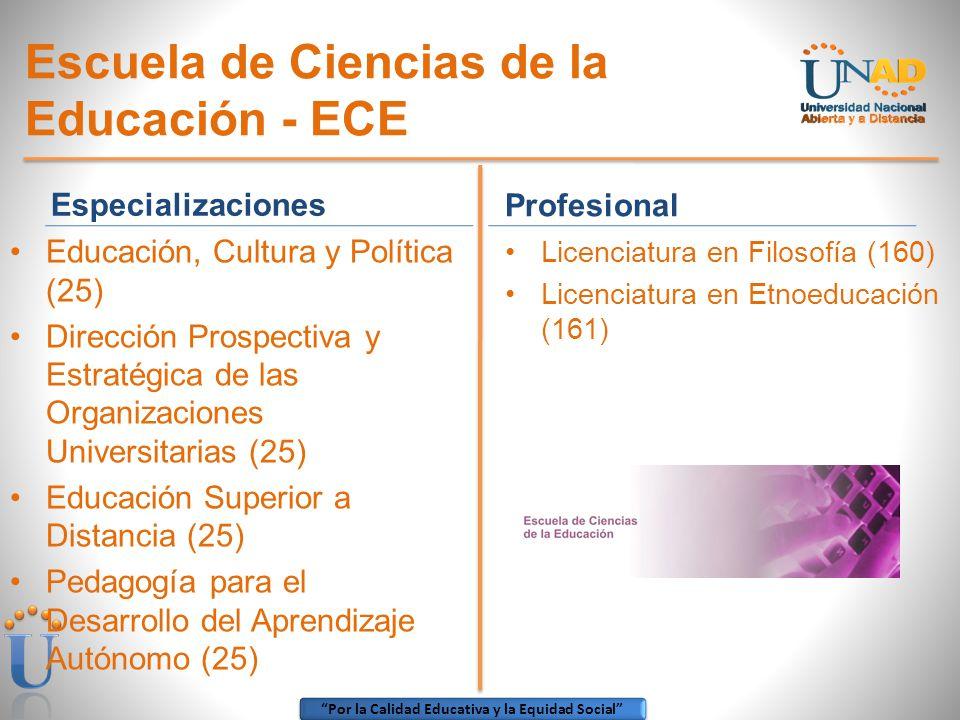 Escuela de Ciencias de la Educación - ECE