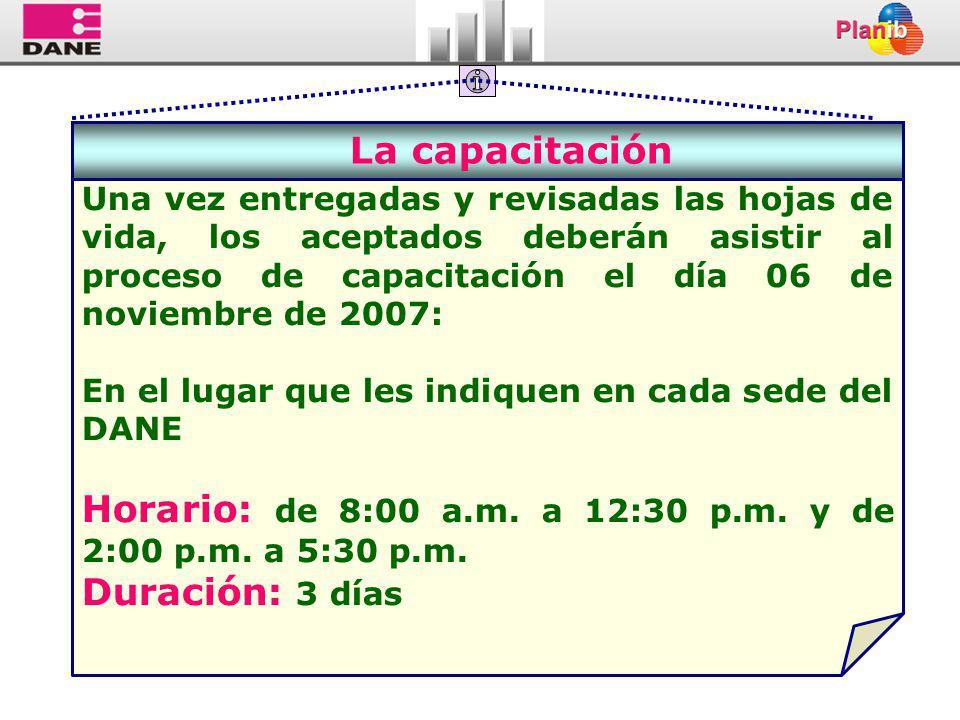 Horario: de 8:00 a.m. a 12:30 p.m. y de 2:00 p.m. a 5:30 p.m.